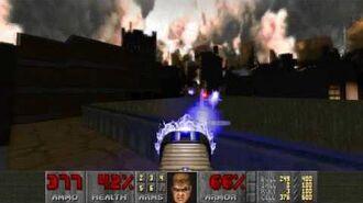 Doom II (1994) - MAP13 Downtown 4K 60FPS