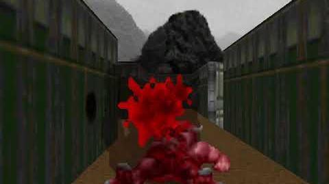 Ultimate Doom - E1M4 Command Control (Remake by John Romero as E1M4b)