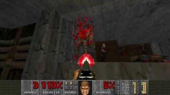 Doom II (1994) - MAP02 Underhalls 4K 60FPS-0