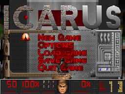 Icarus Menu