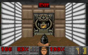 Doom Exit Door