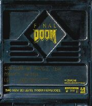 Final Doom box cover