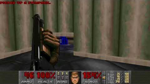 Doom II (1994) - MAP10 Refueling Base 4K 60FPS