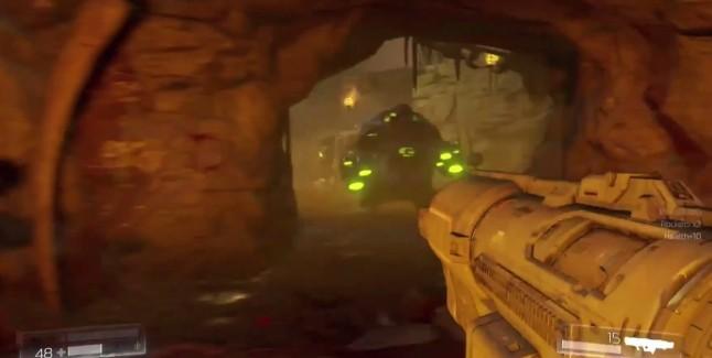 Doom 2016 Rocket Launcher Glowing Green Enemy Gameplay Screenshot 646x325