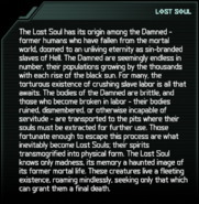Lost Soul Codex Entry