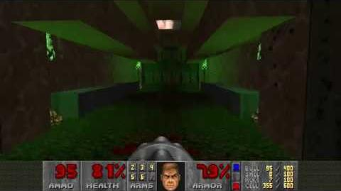 Doom II (1994) - MAP14 The Inmost Dens 4K 60FPS