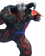 Doom eternal baron of hell render by kindratblack dcp2mkb-fullview