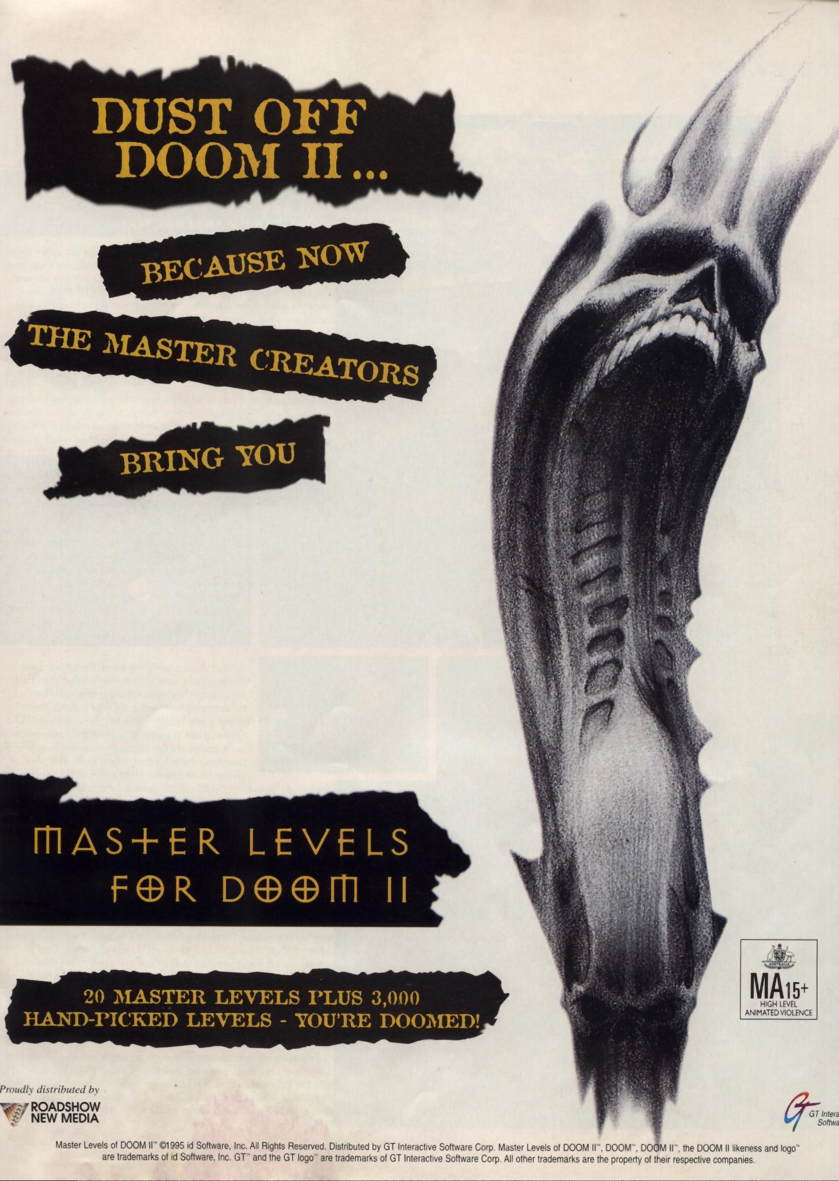 Master Levels for Doom II | Doom Wiki | FANDOM powered by Wikia