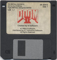 Doom II disk