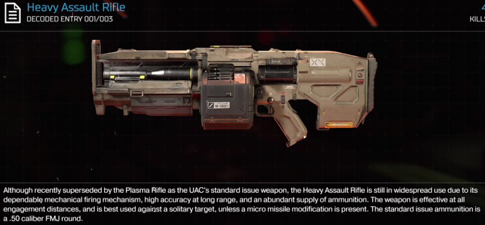 Heavy Assault Rifle | Doom Wiki | FANDOM powered by Wikia