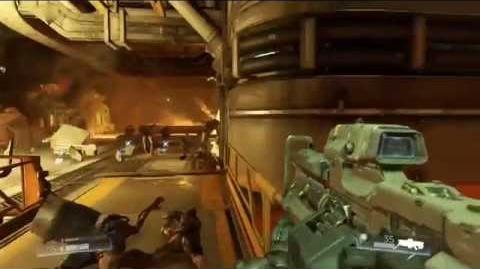 DOOM - Gameplay Footage HD E3 2015