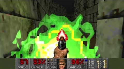 Doom (1993) - E2M1 Deimos Anomaly 4K 60FPS