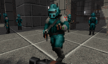 StrifeVE Rebel Soldier Blue