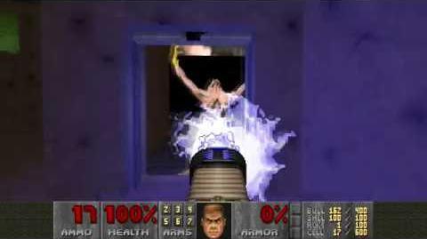 Doom II (1994) - MAP16 Suburbs 4K 60FPS