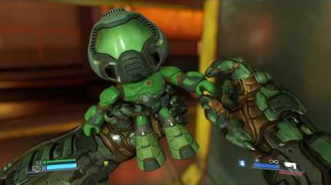 DOOM Collectible Fist Bump