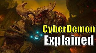 Cyberdemon in Doom 2016 Lore and Morphology Boss fight, Level, Theme, Song, Armor Explained