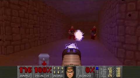 Doom II (1994) - MAP22 The Catacombs 4K 60FPS