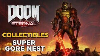 DOOM ETERNAL - Super Gore Nest - ALL COLLECTIBLES GUIDE