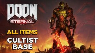DOOM ETERNAL - Cultist Base - ALL COLLECTIBLES GUIDE