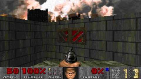 Doom II M19 The Citadel, UV-Speed Using Candle Torch 'Wobble Glide'