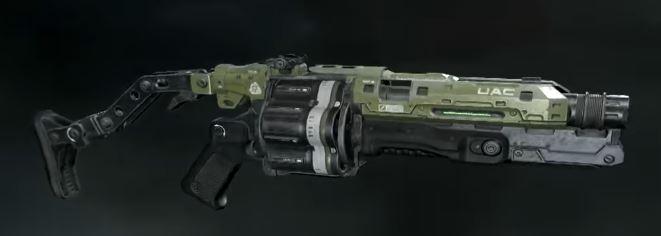 Grenade Launcher Doom 2016 Doom Wiki Fandom Powered By Wikia
