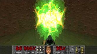 Doom II (1994) - MAP21 Nirvana 4K 60FPS