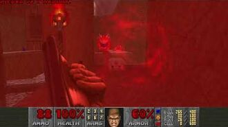 Doom II (1994) - MAP17 Tenements 4K 60FPS