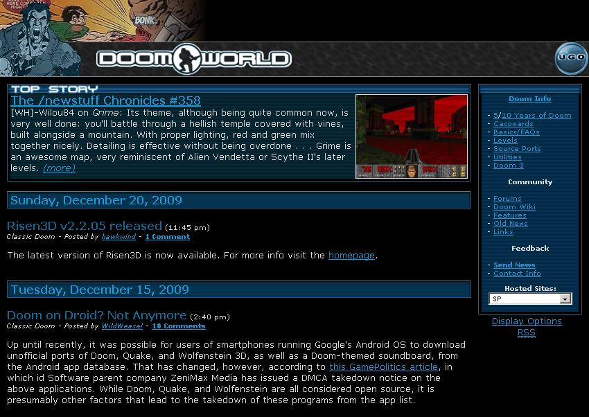 Doomworld | Doom Wiki | FANDOM powered by Wikia