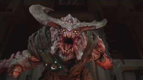 DOOM 4 Cyberdemon Boss Fight