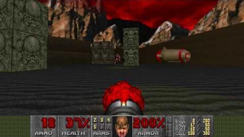 Doom (1993) - E2M8 Tower of Babel 4K 60FPS