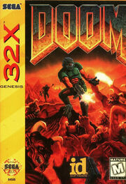 32X Doom Box Art