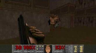 Doom II (1994) - MAP12 The Factory 4K 60FPS