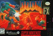 SNES Doom Box Art