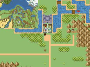 Castle Town on the Do&De:Adv world map.