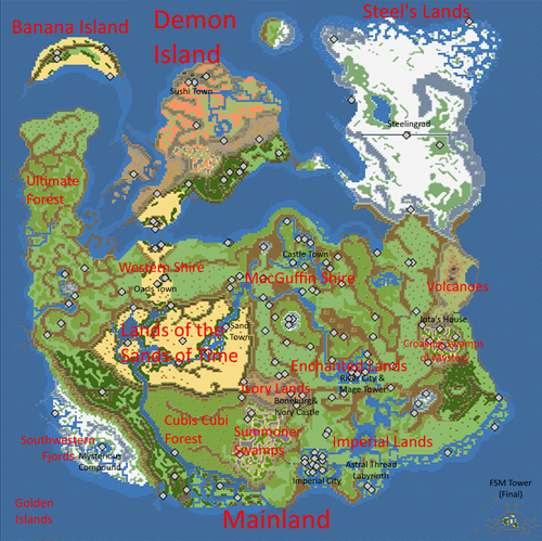 WorldMap DDA