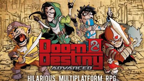 "Doom & Destiny Advanced, Teaser ""Nerds never die"""