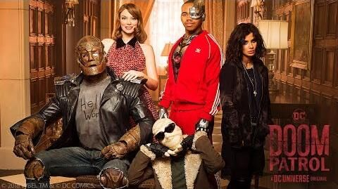 DC UNIVERSE MEET THE DOOM PATROL