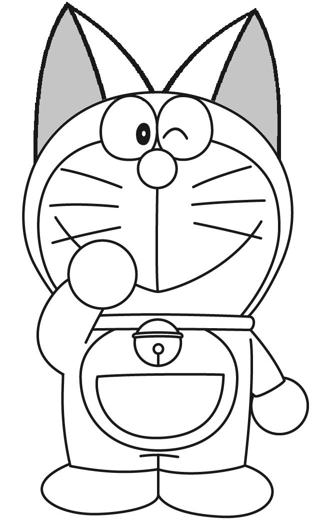 Image CutedoraemoncoloringpagePNG Doraemon Fanon Wiki