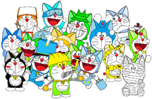 All of my oc doraemon