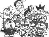 Doraemon and the Gang of Eleven