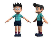 Suneo A pose model stand my me