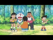 Yelling at Nobita