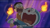 Doraemon Episode 340 3.1 Doraemon and Nobita scared