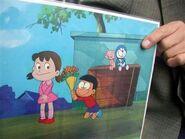 Doraemon 1973 cel
