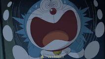Doraemon scared