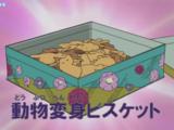 Animal Transformation Biscuits