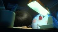 Stand by Me Doraemon Chapter 5 Doraemon is making sure Nobita is sleeping