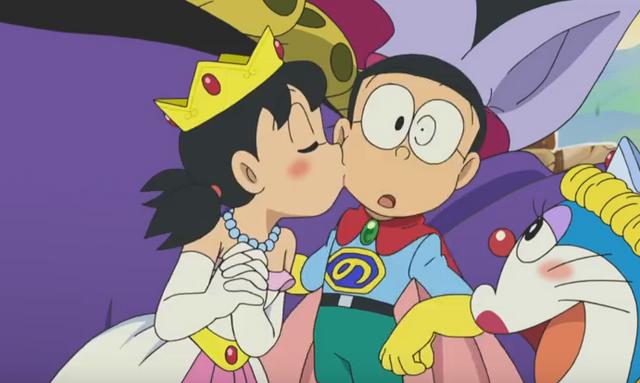 Image - Shizuka Kisses Nobita 3.png | Doraemon Wiki ...