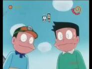 Sunetsugu Suneo Doraemon Nobita in distance