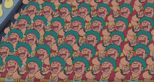 1000個 胖虎唱歌